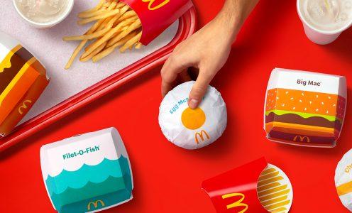 McDonald's rediseña su packaging